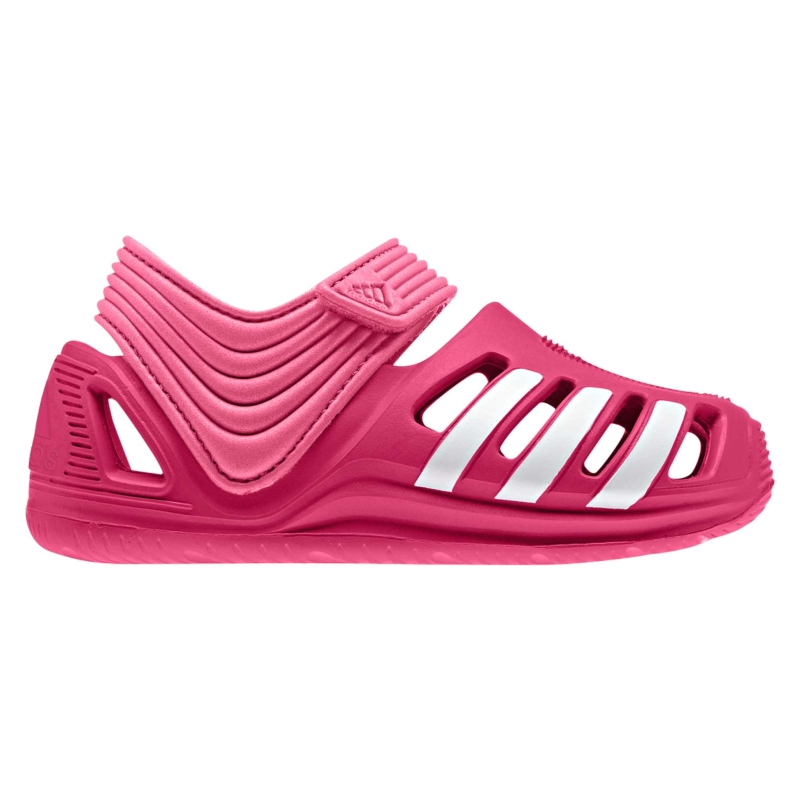 Rekreačná obuv ADIDAS-Zsandal I  VIVID BERRY S14 FTWR WHITE SEMI SOLAR 8fc33bc548f