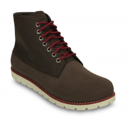 Pánska zimná obuv stredná CROCS-Crocs Cobbler 2.0 Boot M Mgy/Stu