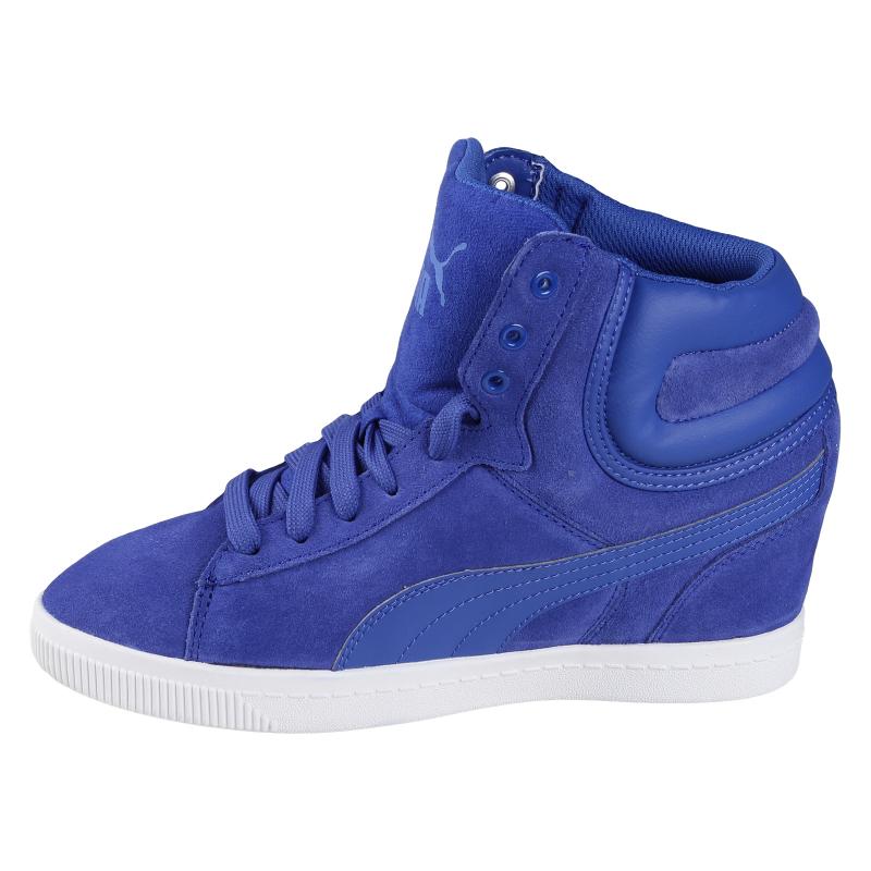 Vychádzková obuv PUMA-Puma Vikky Wedge dazzling blue - Štýlové dámske  topánky značky Puma. 6f4eb47a005