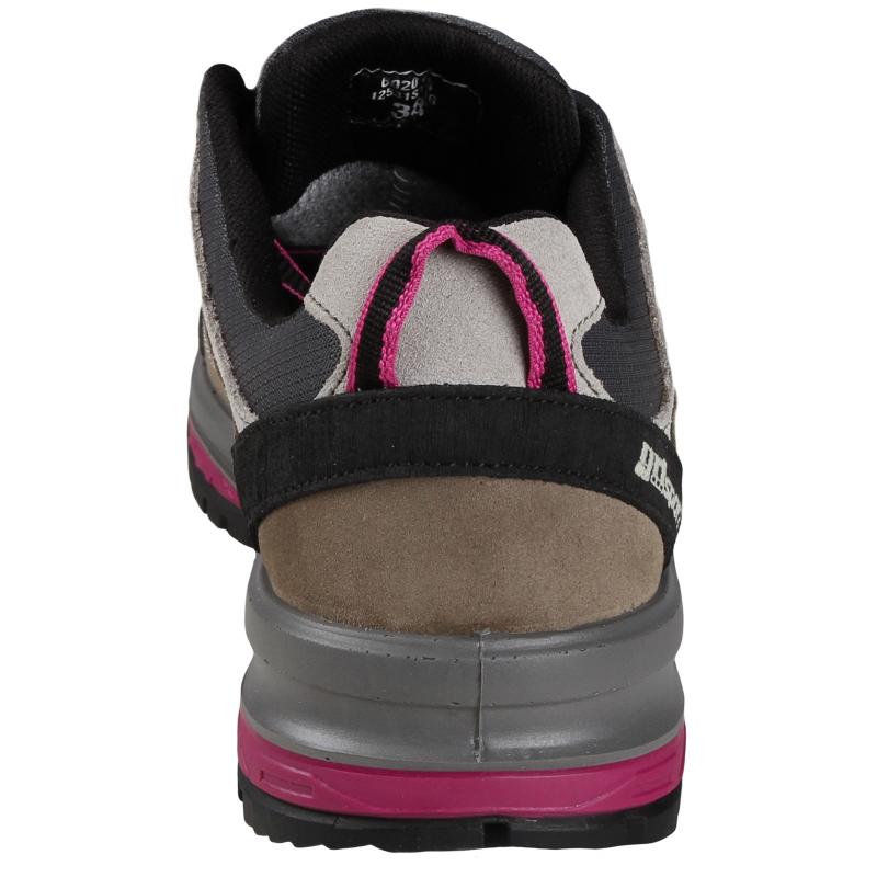 Dámska turistická obuv nízka GRISPORT-FARNESE - Topánky značky Grisport, ktoré boli navrhnuté a vyvinuté, aby poskytovali pohodlie najmä počas krátkej prechádzky.