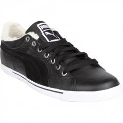 Pánská zimní obuv nízká PUMA-Benecio Lo Fur WTR black-white