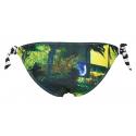 Dámske plavky spodný diel REHALL-WAIKAPU Womens Brief Knotted hawai lime -