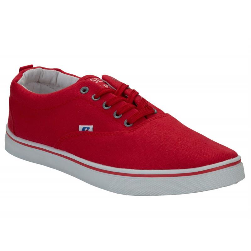 2344b4253d15 Pánska rekreačná obuv RUSSELL ATHLETIC-Oxford Lace Red - Pánska vychádzková  obuv značky Russell Athletic. Loading zoom