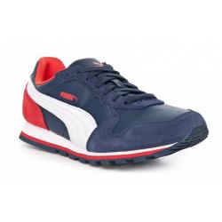 Vychádzková obuv PUMA-ST Runner L Jr peacoat-white