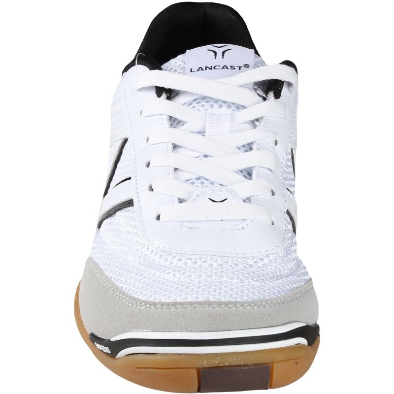Pánska halová obuv LANCAST-EXPEDIO II white-black - Odolná polstrovaná tréningová obuv značky Lancast.