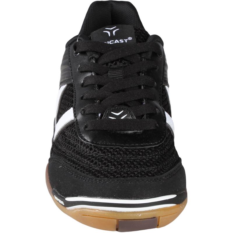 Juniorská halová obuv LANCAST-EXPEDIO II Jr black-white - Odolná juniorská polstrovaná tréningová obuv značky Lancast.
