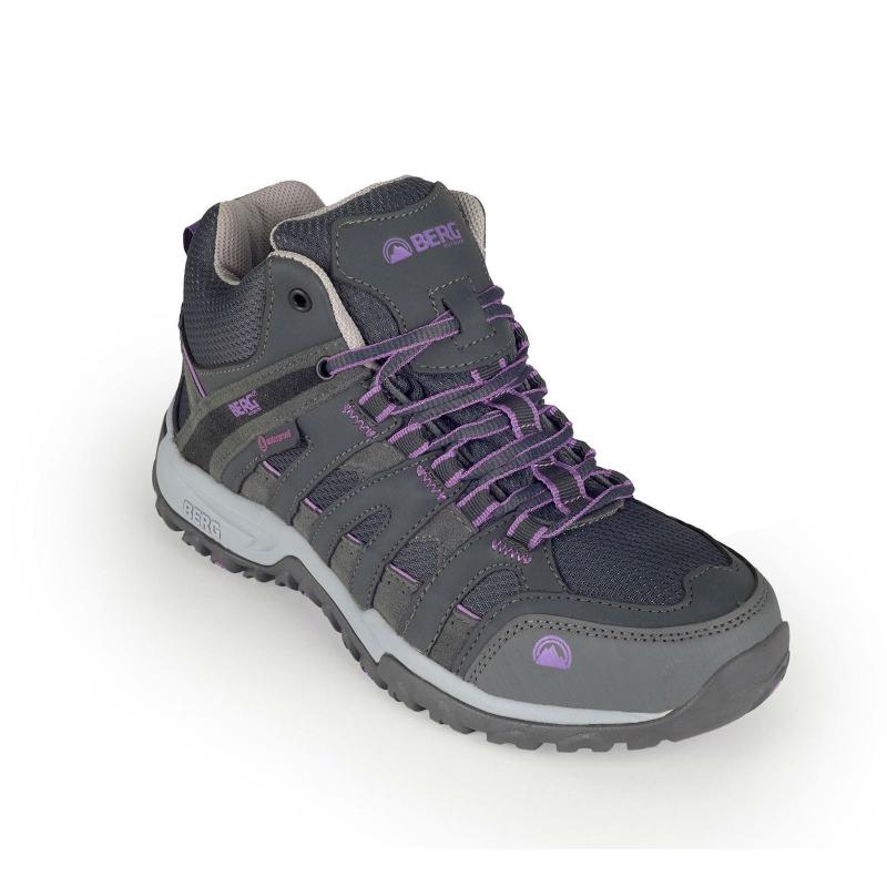 52797c43c131 Dámska turistická obuv vysoká BERG OUTDOOR-BIG MEERKAT W FORGED IRON -  Dámska turistická obuv