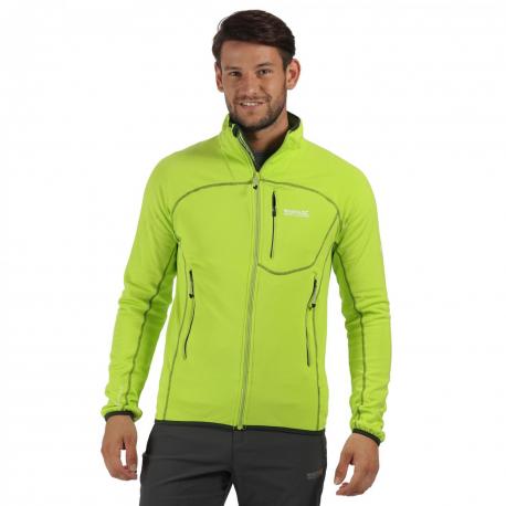 Turistická softshellová bunda REGATTA Diego II Lime Zest -