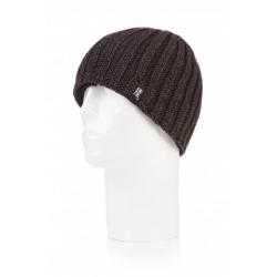 HEAT HOLDERS-Pánska čiapka hnedá