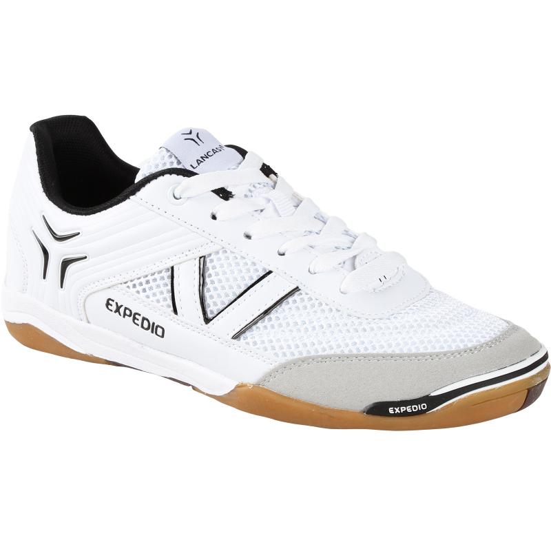 Juniorská halová obuv LANCAST-EXPEDIO II Jr white-black - Juniorská tréningová obuv značky Lancast.