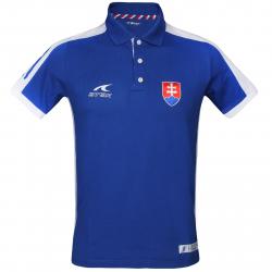 Fan polo tričko s krátkym rukávom ATAK POL SVK 16 POLOSHIRT BLUE CO