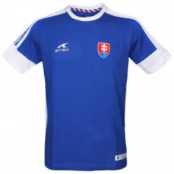 Fan tričko s krátkym rukávom ATAK TRI SVK 16 T-SHIRT BLUE CO