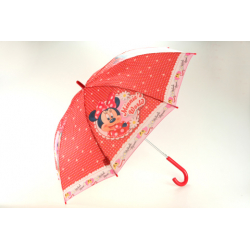 Detský dázdnik JFK Detský dáždnik automatický, neskladací 46 cm, Minnie