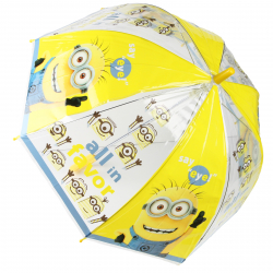 Detský dázdnik JFK Detský dáždnik, manuálny, neskladací 48 cm, Minions J