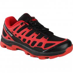 Turistická obuv nízka OLPRAN-RoadStar Aztec red/black
