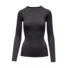 THERMOWAVE-Womens long sleeve shirt PRIME black