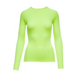 THERMOWAVE-Womens long sleeve shirt PRIME green