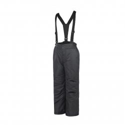 Detské lyžiarske nohavice COLOR KIDS-Salix cover pants-Black