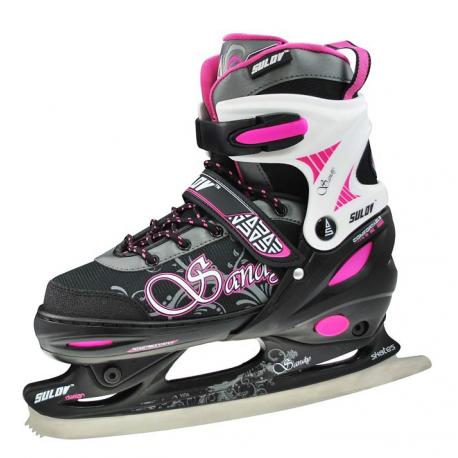 Detské ľadové korčule SULOV-SANDY GIRL TRL