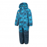 COLOR KIDS-Racco padded coverall AOP-Blue