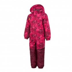 COLOR KIDS-Racco padded coverall AOP-Pink