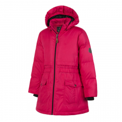 Dievčenská bunda COLOR KIDS-Rhoda padded jacket-Pink