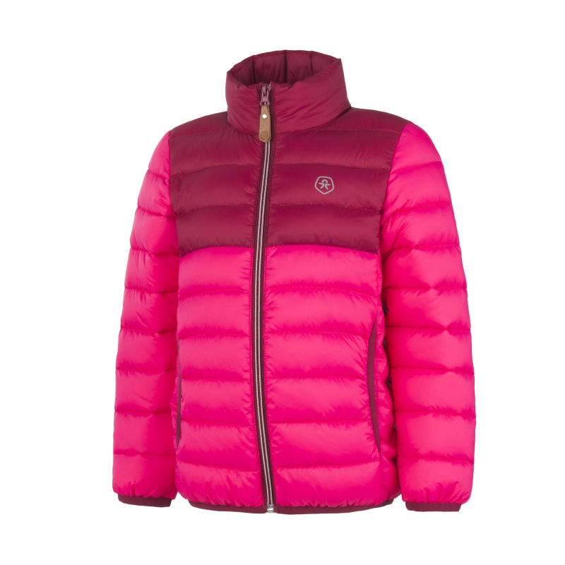 a572e736b Dievčenská bunda COLOR KIDS-Ronbong padded jacket-Pink -
