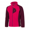 COLOR KIDS-Rafting fleece 2 face jacket-Red