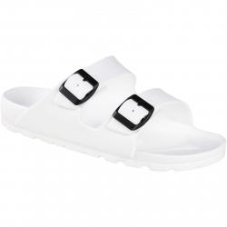 Pánska rekreačná obuv FLAME SHOES-Flamky - plastic shoes A1015 white