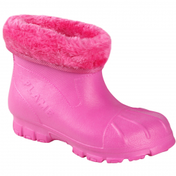 Gumáky FLAME SHOES-Flamky - plastic shoes X6005 pink