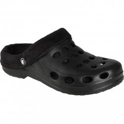 Pánska rekreačná obuv FLAME SHOES-Flamky - plastic shoes A001 winter black