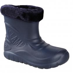 Detské gumáky FLAME SHOES-Flamky - plastic shoes D3001 dark blue