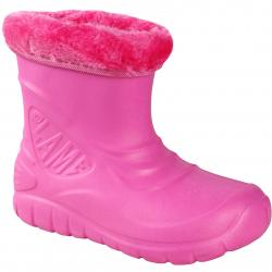 Detské gumáky FLAME SHOES-Flamky - plastic shoes D3001 pink