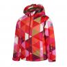 COLOR KIDS-Riella padded ski jacket AOP-Red