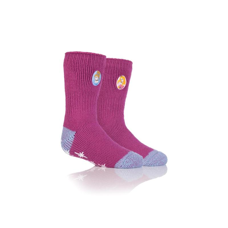 Detské ponožky HEAT HOLDERS-Dievčenské DISNEY PRINCESS -