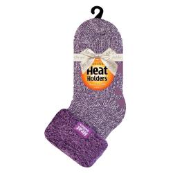 Dámske ponožky HEAT HOLDERS-Dámske ponožky Lounge Purple