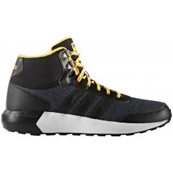 Rekreačná obuv ADIDAS NEO-CLOUDFOAM RACE WTR CBLACK/CBLACK/SOGOLD