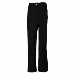 Detské lyžiarske softshellové nohavice AUTHORITY-NESS UNI black