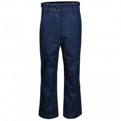 Detské turistické softshellové nohavice AUTHORITY KIDS-NESS UNI blue