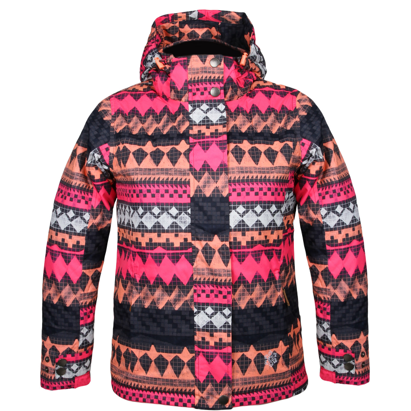 Detská lyžiarska bunda AUTHORITY-KIDDE G pink 74bba47b139