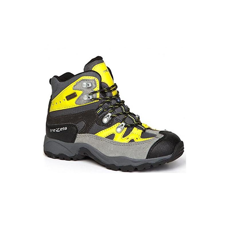 b2959a2ded01 Juniorská turistická obuv vysoká TREZETA-IDAHO EVO JR WP GREY-ACID GR -  Juniorská