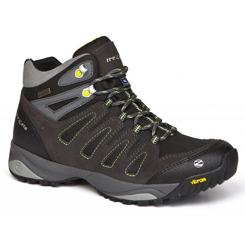 b2519cae85ce Pánska turistická obuv vysoká TREZETA-CHINOOK WP ANTHRACITE-LIME -
