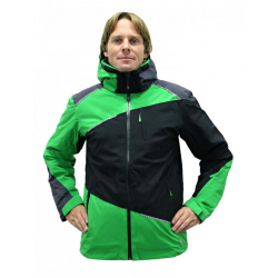 BLIZZARD Performance Ski Jacket black/anthracite/apple gr