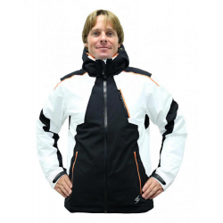BLIZZARD Power Ski Jacket black/white/orange