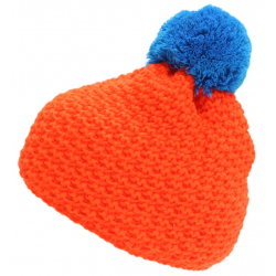 Zimní čepice BLIZZARD-Mixer, orange / blue