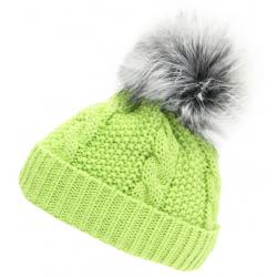 Dámska zimná čiapka BLIZZARD-Viva Kaprun, green/silver