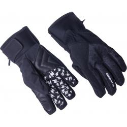 Lyžařské rukavice BLIZZARD-Chamonix ski gloves, black / grey,