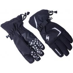 Lyžiarske rukavice BLIZZARD-Reflex ski gloves, black/silver