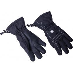 Dámske lyžiarske rukavice BLIZZARD-Viva Echo ski gloves, black/silver,