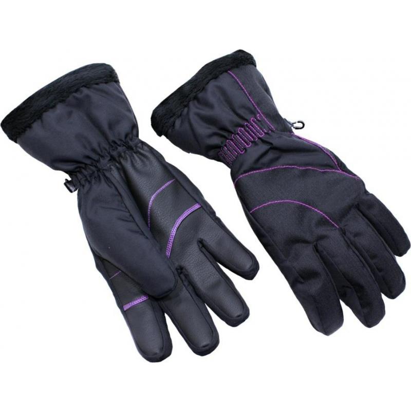 eec65ddff Dámske lyžiarske rukavice BLIZZARD-Viva Harmonica ski gloves,  black/magenta, -